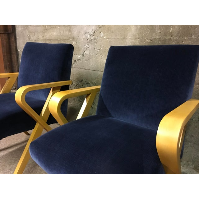 1940s Vintage Thonet Bentwood Armchairs - a Pair For Sale - Image 10 of 13