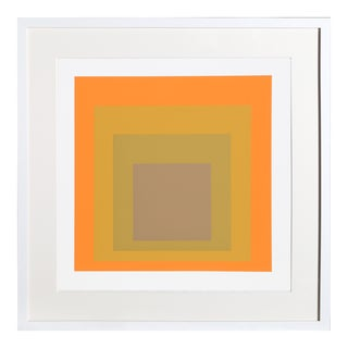 Josef Albers - Portfolio 2, Folder 19, Image 2 Framed Silkscreen For Sale