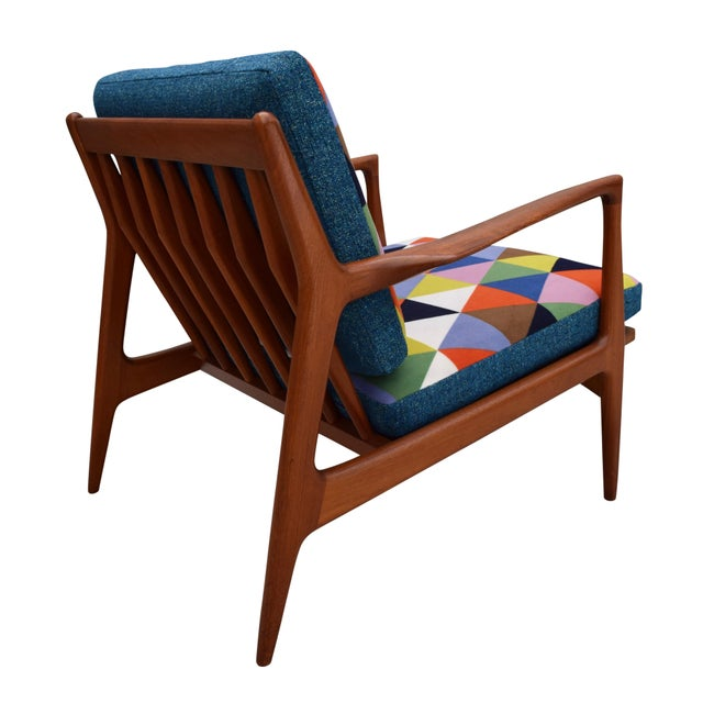 Vintage Danish Mid-Century Teak Lounge Chair For Sale - Image 5 of 10