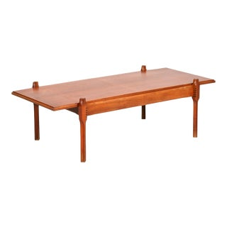 Ico Parisi Teak Table From the 60s For Sale
