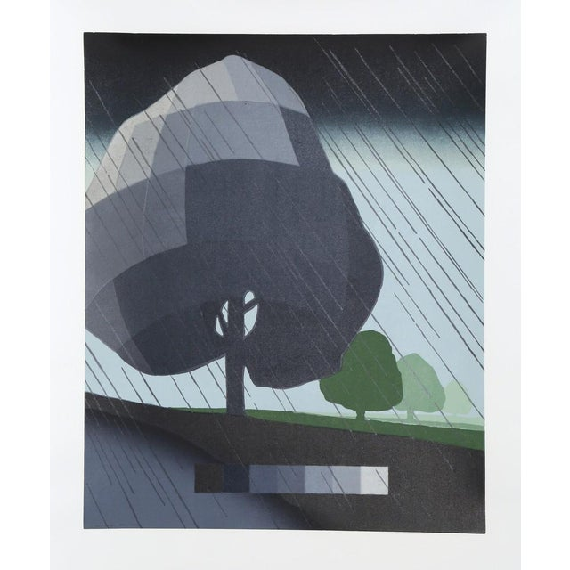 Woodcut 43 1/2 × 36 1/2 in 110.5 × 92.7 cm Edition 4/40, Artist: Suzanne Caporael, American (1949 - ) Title: Untitled -...