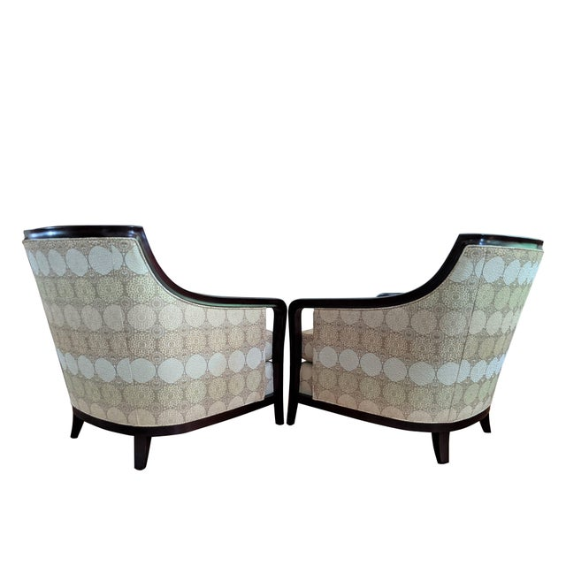Barbara Barry for Baker Furniture Salon Chairs - a Pair For Sale In Raleigh - Image 6 of 13