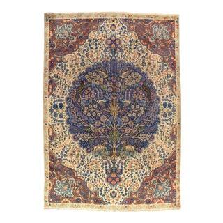 "Pasargad NY Antique Persian Tabriz Wool Pile Rug - 6'11"" x 9'10"""
