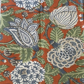 Thibaut Mitford Fabric - 1 1/3 Yards For Sale