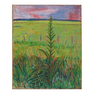 Late 20th Century Landscape Oil on Canvas by Duilio Pierri