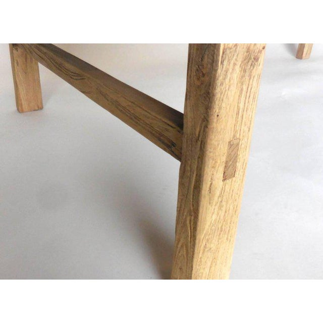 Northern Japanese Elm Cocktail Table For Sale In Los Angeles - Image 6 of 10
