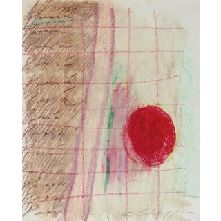Abstract Expressionist Study in Pastel, 1970 For Sale