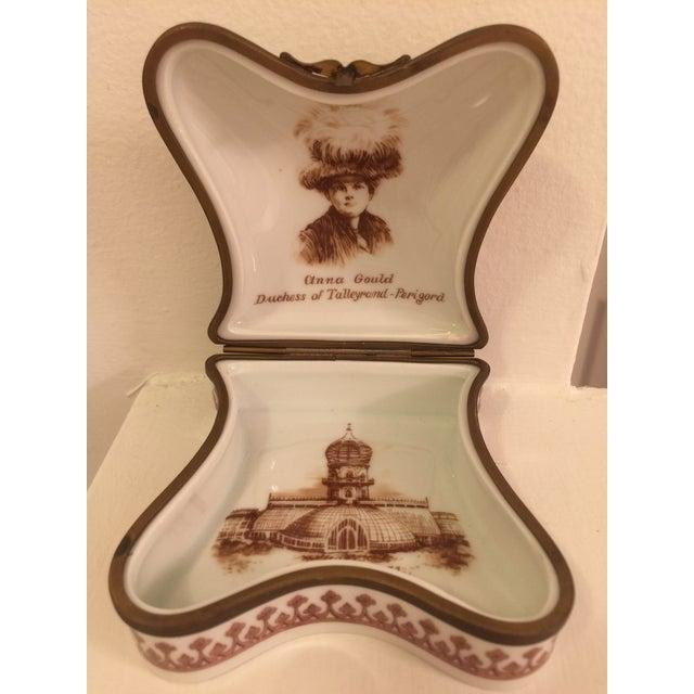 Vintage Porcelain De Paris Boxes - Set of 5 For Sale - Image 4 of 12