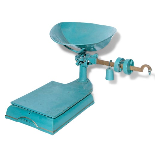 Blue and Gold Mercantile Scale - Image 2 of 4