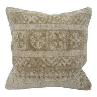Turkish Faded Vintage Decorative Pillow Cover For Sale