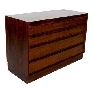 Torbjørn Afdal Scandinavian Rosewood Dresser by Bruskbo Modell, Norway For Sale