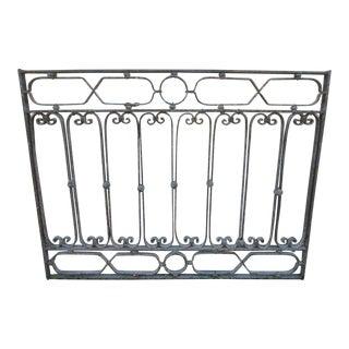 Antique Victorian Iron Gate