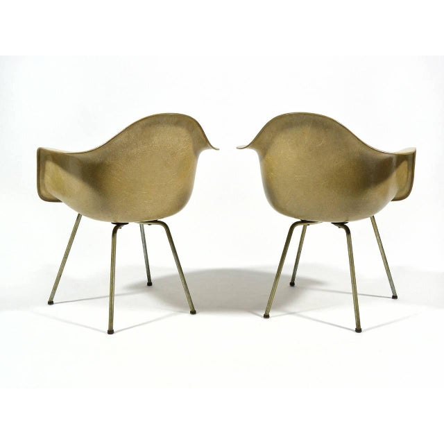 Pair of Eames SAX Armchairs by Zenith Plastics for Herman Miller - Image 5 of 11