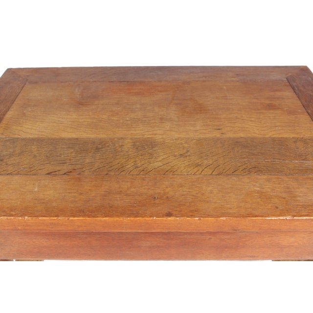 Mid-Century Tudor-Style Coffee Table For Sale - Image 11 of 11