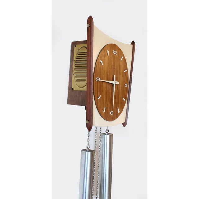 Junghans Germany Mid-Century Wall Clock - Image 4 of 6
