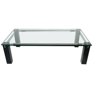 Crespi Italian Mid-Century Modern Architectural Coffee Table For Sale