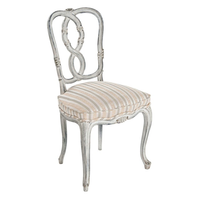Painted Ribbon Chair For Sale