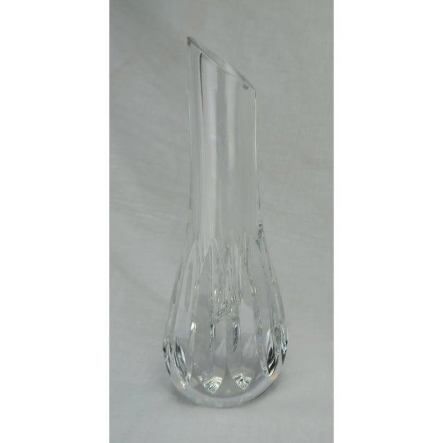 Modern Baccarat Crystal Bud Vase For Sale - Image 3 of 9