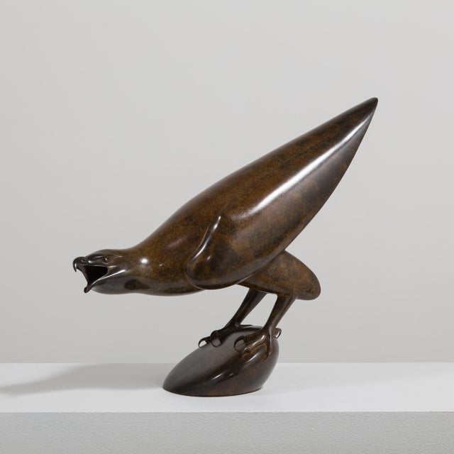 A Bronze Golden Eagle by Geoffrey Dashwood Edition 1 of 12 1999