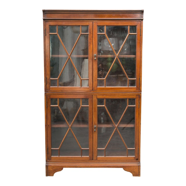 19th Century Dwarf English Bookcase - Image 1 of 10