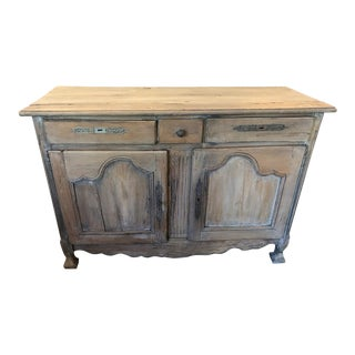 18th Century French Provincial Louis XV Buffet For Sale