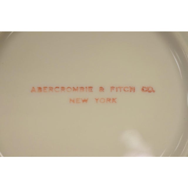 1950s 1950s Vintage Frank Vosmansky for Abercrombie & Fitch Mfh Huntsman Plate For Sale - Image 5 of 6