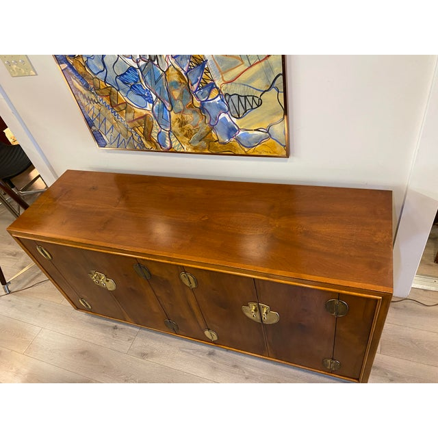 Mid 20th Century Midcentury Credenza Signed by Lane Furniture For Sale - Image 5 of 12