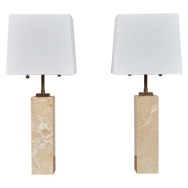 Robsjohn-Gibbings Table Lamps - a Pair For Sale