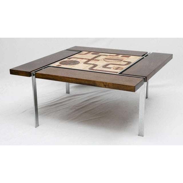 Danish Tile Top Coffee Table