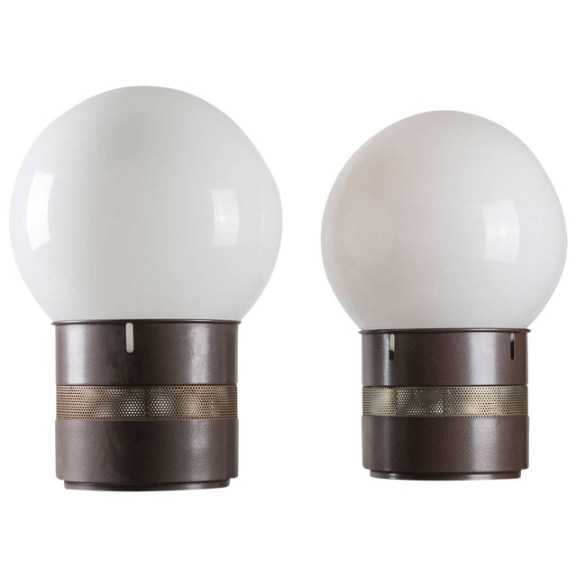 """Pair of """"Mezzo Oracolo"""" Table Lamps by Gae Aulenti for Artemide For Sale"""