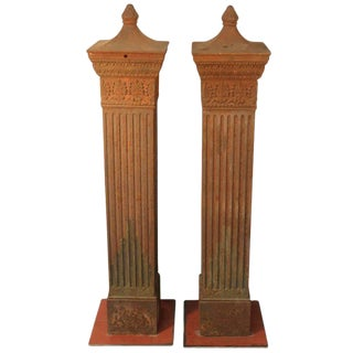 Cast Iron Columns From Illinois For Sale
