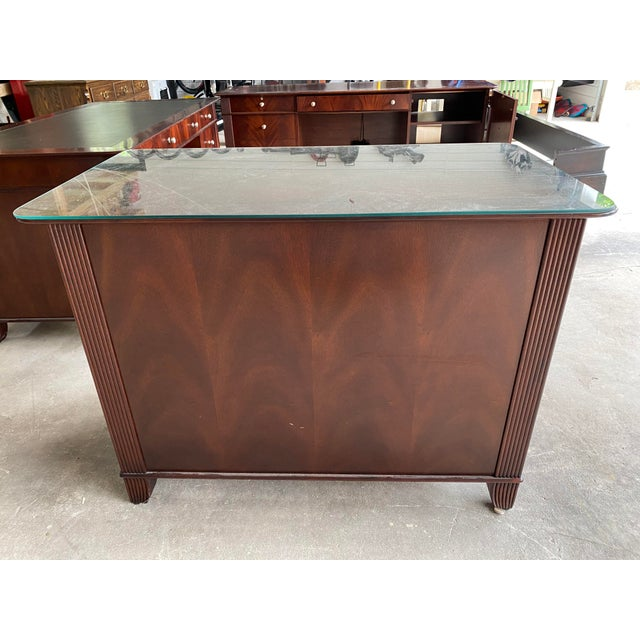 Brown Sligh Mahogany File Cabinet For Sale - Image 8 of 8