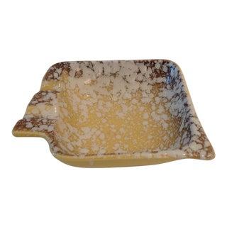 Textured Ceramic 1950s Ashtray For Sale