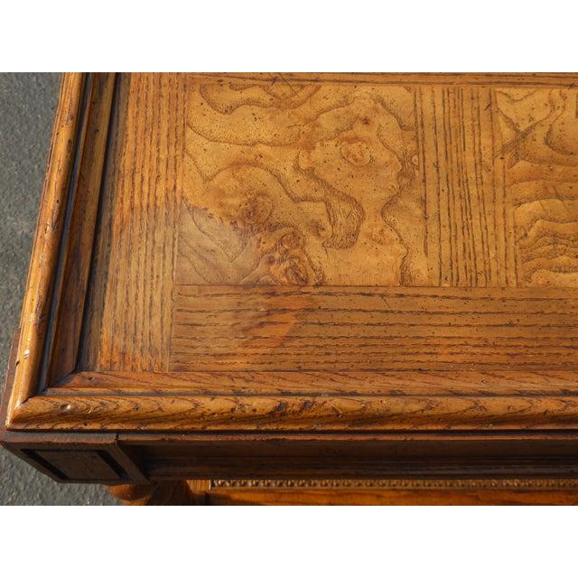 Baker Furniture Barley Twist Cane Shelf End Table ~ Side Table For Sale - Image 9 of 13