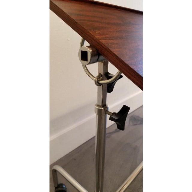 Brown Danecastle Aps Rosewood Adjustable Bedside Desk or Table For Sale - Image 8 of 13