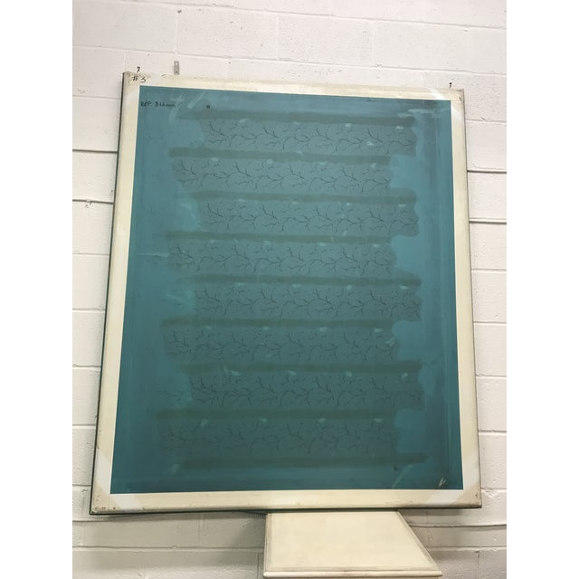 Mid 20th Century Screen Press Titled #3 For Sale - Image 5 of 5