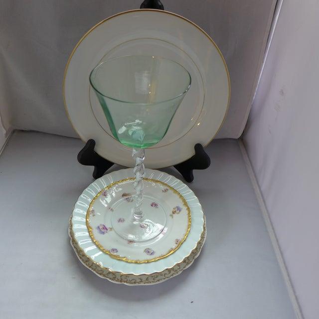 Vintage Mismatched Dinner Setting - Set of 5 For Sale - Image 9 of 9