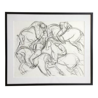 Polo II - framed For Sale