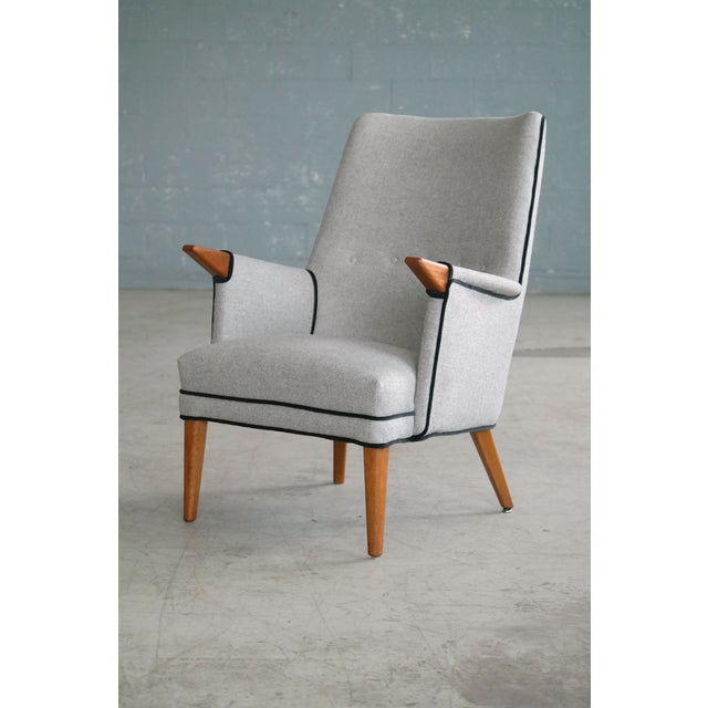 """Svend Skipper """"Mama Bear"""" Wingback Lounge Chair For Sale - Image 11 of 11"""