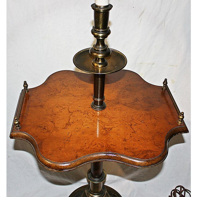 Traditional Floor Table Lamp - Image 4 of 7