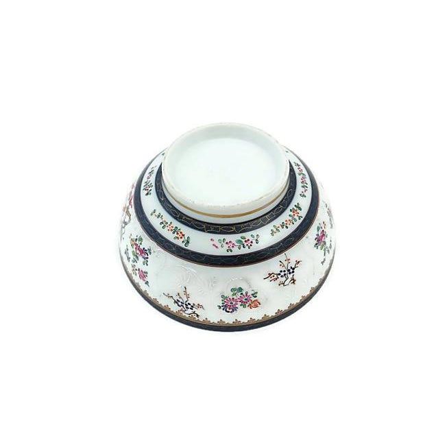 Large 19th-C French Porcelain Bowl - Image 5 of 6