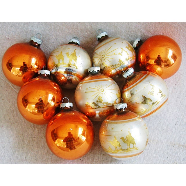 1950s Christmas Ornaments With Box - Set of 9 - Image 2 of 8