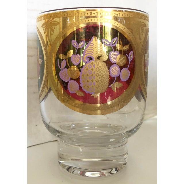 Whiskey Glasses/22 K Gold trim - Set Of 9 - Image 3 of 6