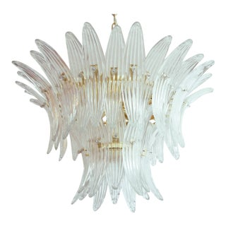 Tropicana Palmette Chandelier by Fabio Ltd (2 Available) For Sale