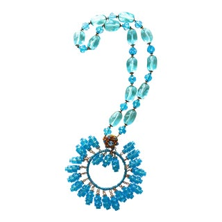Miriam Haskell Maharaja Necklace For Sale