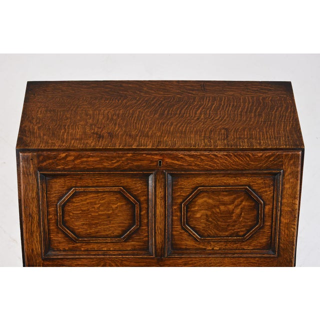 19th Century Jacobean-style Drop-Front Desk For Sale In Los Angeles - Image 6 of 10
