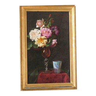 Emily Selinger, American 1848-1927 Table Top Still Life For Sale