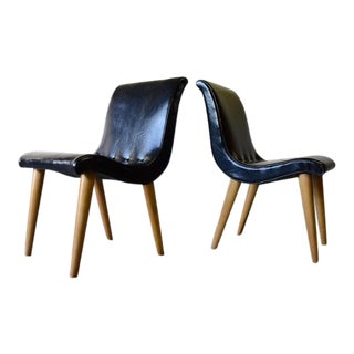 Mid Century Modern Scoop Chairs by Russell Wright for Conant Ball For Sale