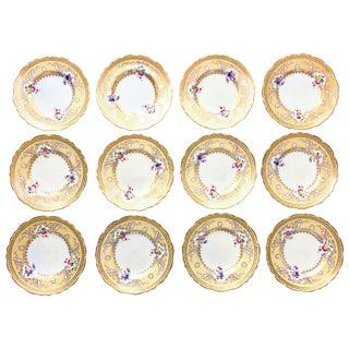 Tiffany Desert Plates - Set of 12 For Sale