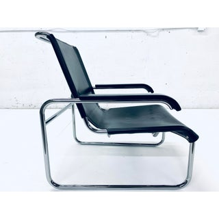 Marcel Breuer for Thonet S 35 Leather Lounge Chair, 1960s Preview